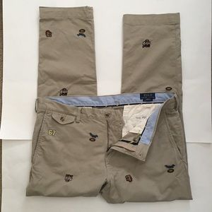 Ralph Lauren Polo Pants 36x30 Vintage Embroidered